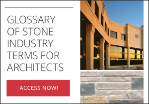 Glossary of Stone Industry Terms for Architects