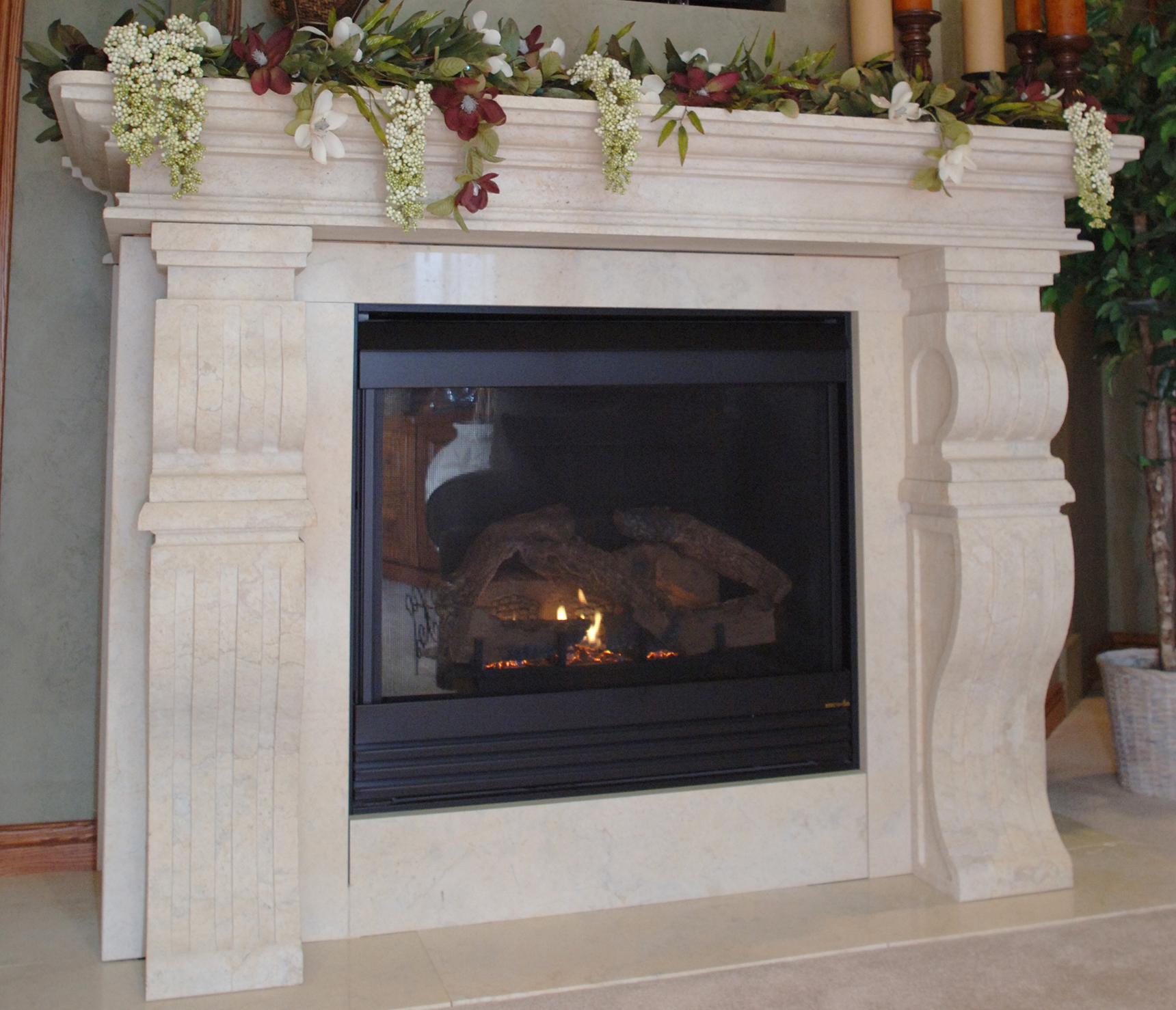 Fireplace Surrounds - Eden Valders Stone