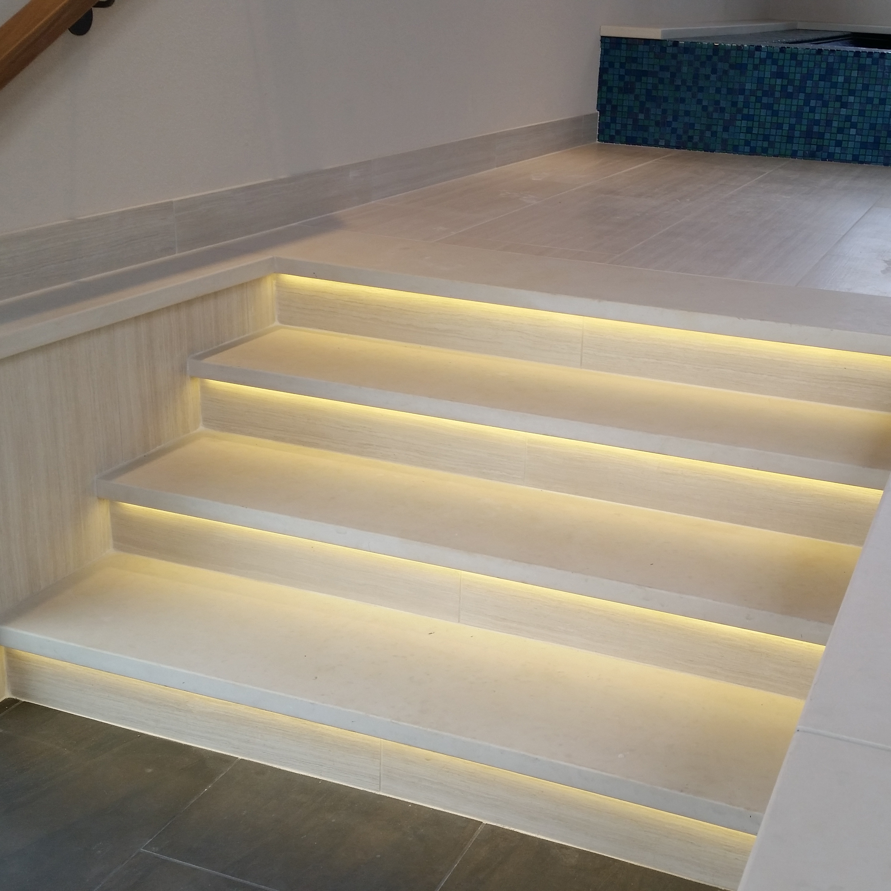 Stone Properties The Use Of Treads And Risers Create A Beautiful Staircase Have Smooth Horizontal Surface For Walking On Typically With